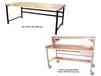 HEAVY-DUTY WORK BENCHES - BASIC BENCHES WITH PLASTIC SE TOP