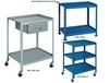 """UTILITY TABLES & CARTS - WITH 5"""" CASTERS"""